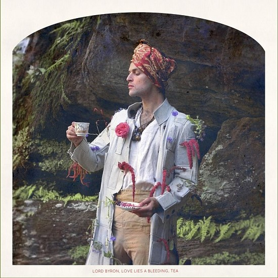 "RECENT ARRIVALS, KAHN+SELESNICK, ""LORD BYRON, LOVE-LIES-BLEEDING, TEA Ed. 5"" pigment print"