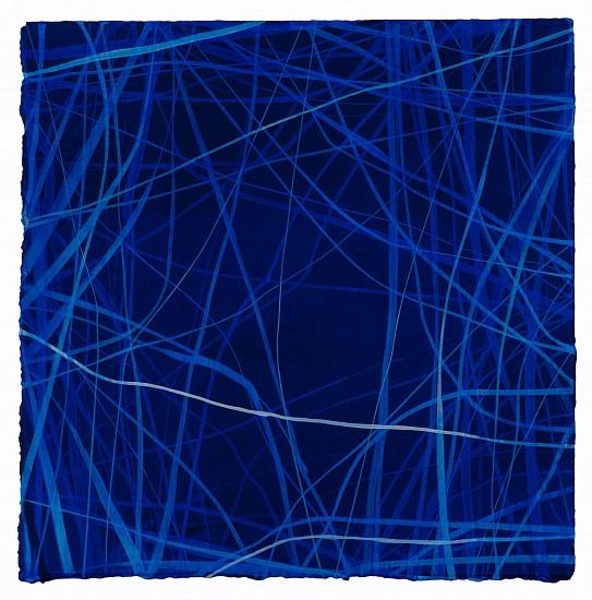 "RECENT ARRIVALS, ERIN WIERSMA, ""EXAMEN, 4/18/2016"" acrylic on paper"