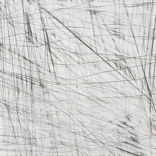 "RECENT ARRIVALS, ERIN WIERSMA, ""ROTE LINES, 6/26/2014"" Graphite on Paper"