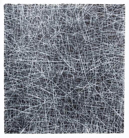"RECENT ARRIVALS, ERIN WIERSMA, ""EXAMEN, 7/21/2014"" acrylic on paper"