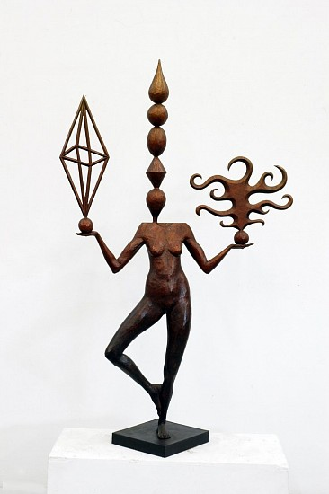 JOHN BUCK, KAHALA cast bronze