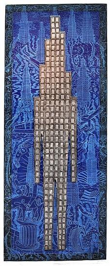 JOHN BUCK, SKY LINE Ed. 15 woodblock print