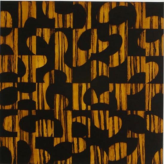 JAMIE BRUNSON, HONEYGROVE oil and alkyd on polyester over panel