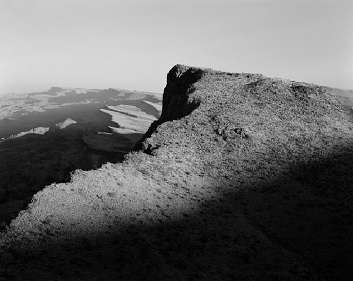 MICHAEL BERMAN, MACHO PEAK LOOKING NORTH, PINTO RANCH, TEXAS Ed. 12 pigment print