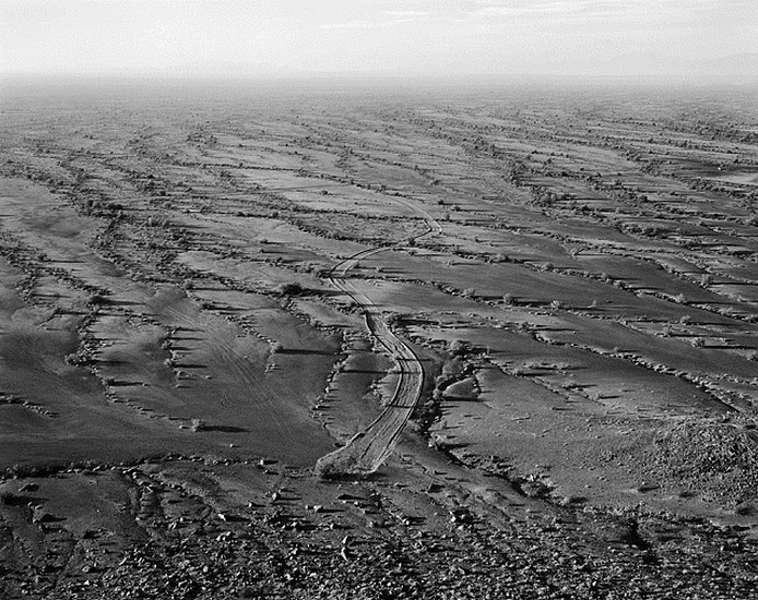 MICHAEL BERMAN, SPUR, BARRY M. GOLDWATER RANGE, ARIZONA Ed. 12 pigment print