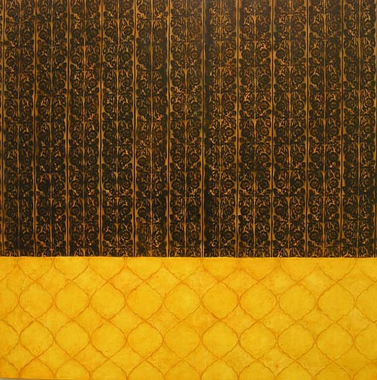 JAMIE BRUNSON, CUILAPAM oil and alkyd on polyester over panel
