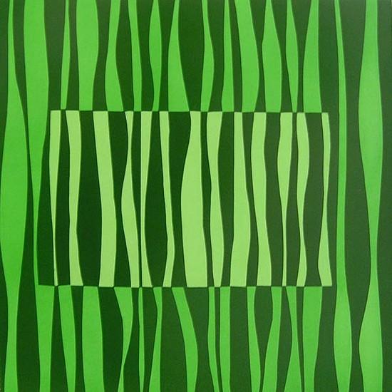 JAMIE BRUNSON, FLIP oil and alkyd on panel