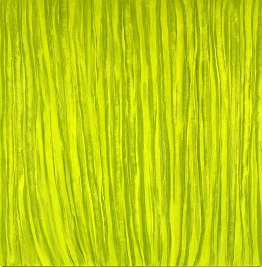 JAMIE BRUNSON, SWEEP oil and alkyd on polyester over panel