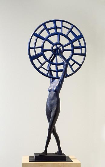 JOHN BUCK, MEDICINE WHEEL 2/5 cast bronze
