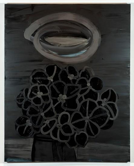 ANA MARIA HERNANDO, HORTENSIA (HYDRANGEA) oil on canvas