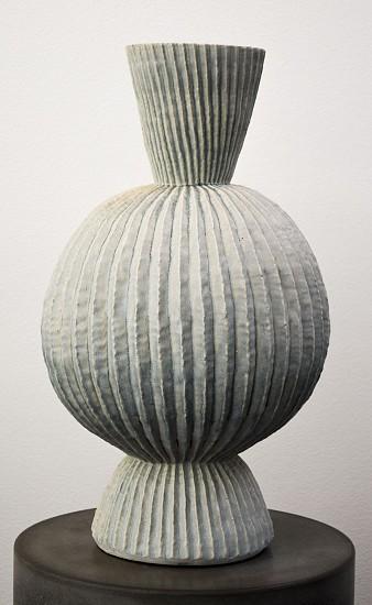 KIM DICKEY, THE FULLNESS OF DAY (AND PALE ILLUMINATION OF THE NIGHT) glazed  stoneware