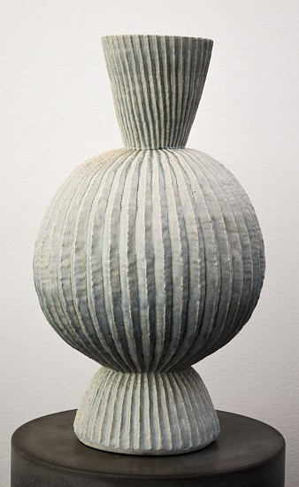 KIM DICKEY, THE FULLNESS OF DAY (AND PALE ILLUMINATION OF THE NIGHT) glazed  stoneware