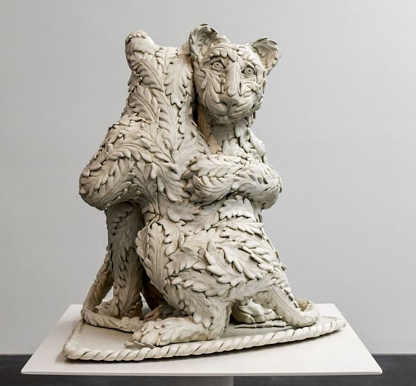 KIM DICKEY, THE IMPOSSIBILITY OF LETTING GO glazed  stoneware