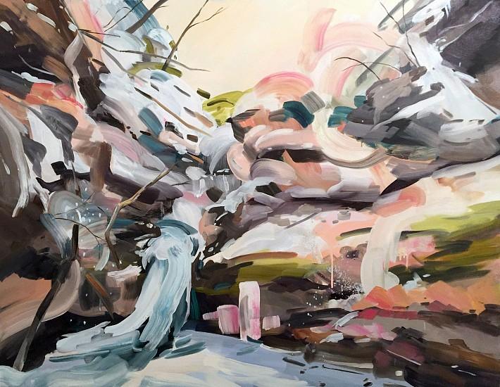 DIANE CARR, SNOW oil on canvas