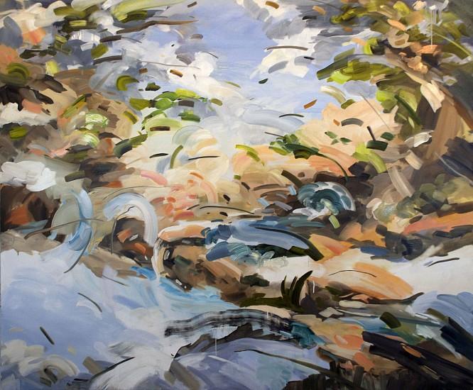 DIANE CARR, MIDAIR oil on canvas