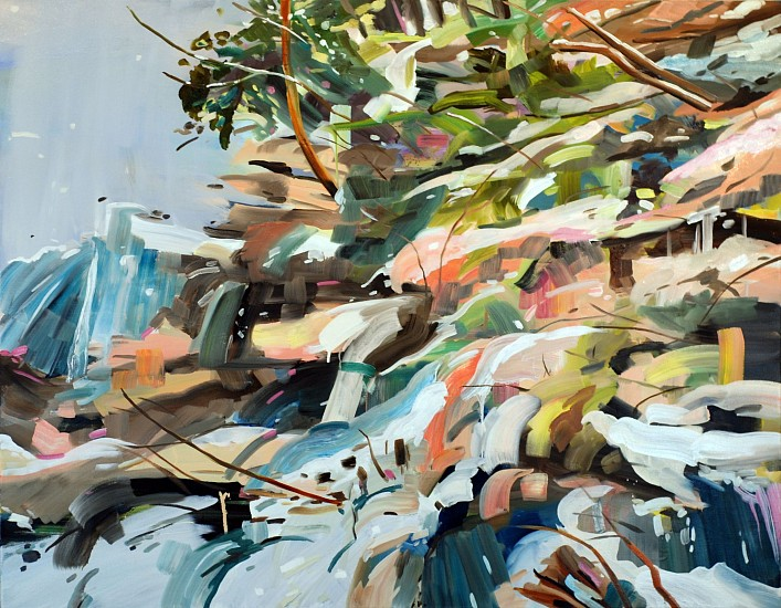DIANE CARR, SIDE oil on canvas