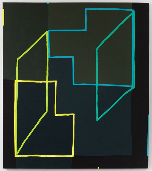 JASON KAROLAK, UNTITLED (P-1602) oil on canvas