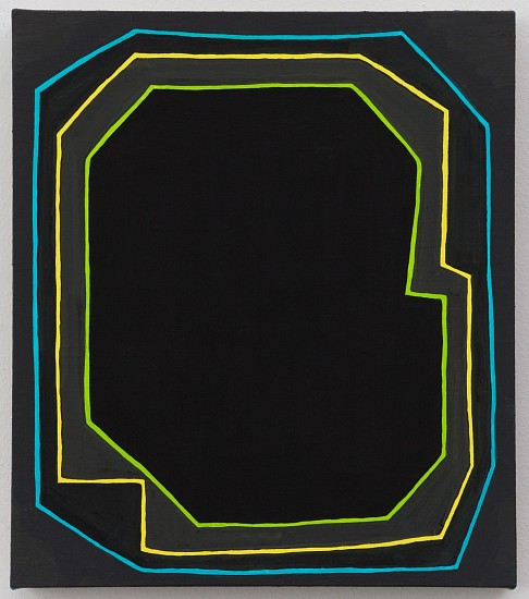 JASON KAROLAK, UNTITLED (P-1615) oil on linen over panel