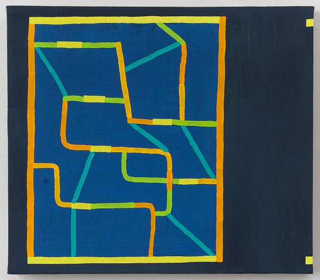 JASON KAROLAK, UNTITLED (P-1612) oil on linen over panel