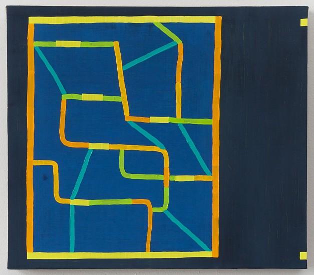 JASON KAROLAK, UNTITLED (P-1612) oil on linen over panel
