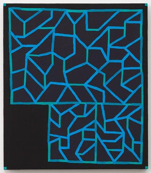 JASON KAROLAK, UNTITLED (P-1629) oil on linen over panel