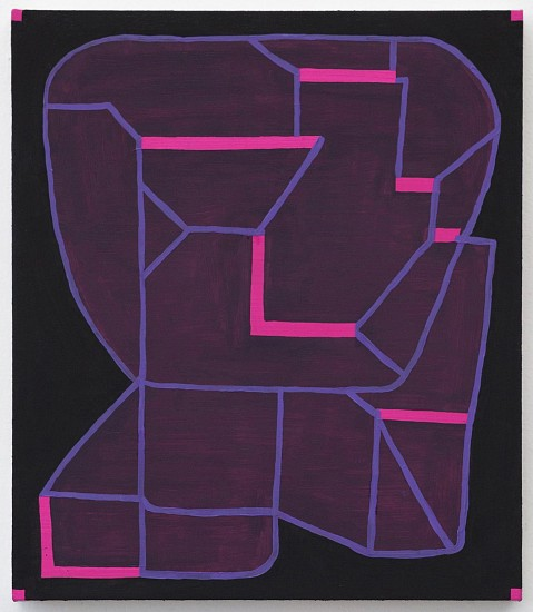 JASON KAROLAK, UNTITLED (P-1628) oil on linen over panel