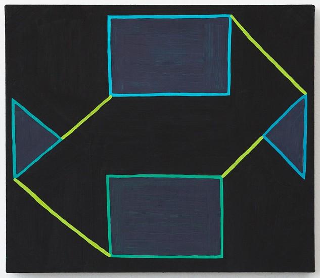 JASON KAROLAK, UNTITLED (P-1634) oil on linen over panel