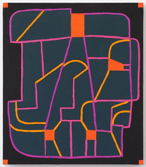 JASON KAROLAK, UNTITLED (P-1635) oil on linen over panel