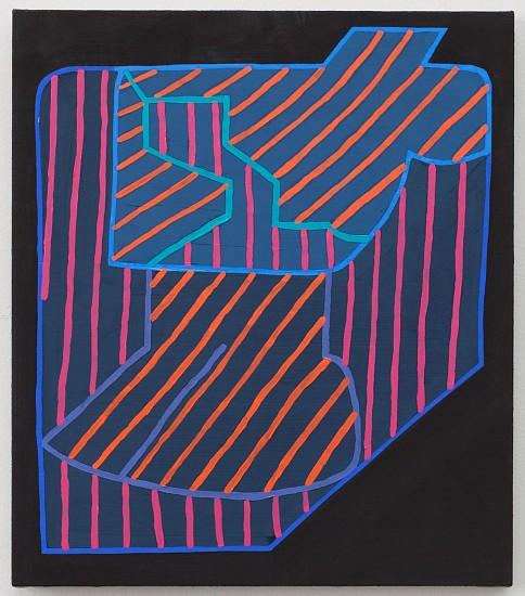 JASON KAROLAK, UNTITLED (P-1636) oil on linen over panel