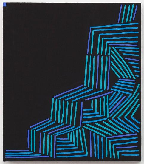 JASON KAROLAK, UNTITLED (P-1649) oil on linen over panel