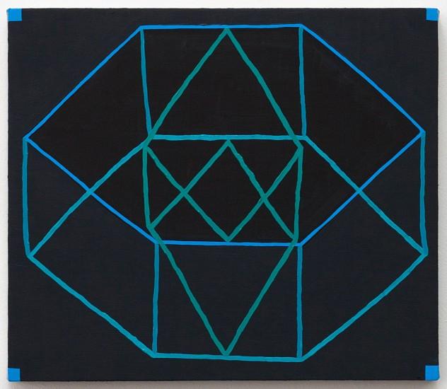JASON KAROLAK, UNTITLED (P-1651) oil on linen over panel