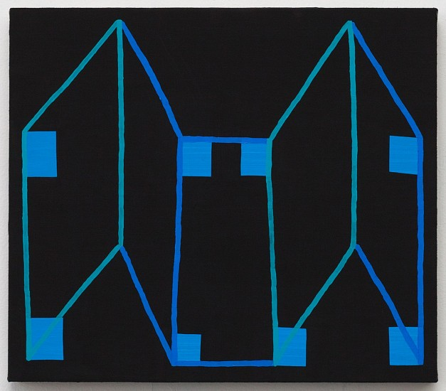 JASON KAROLAK, UNTITLED (P-1652) oil on linen over panel