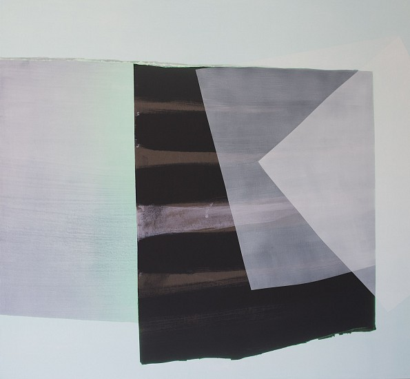 KATE PETLEY, THIS PALE AFTERNOON acrylic and archival ink on canvas