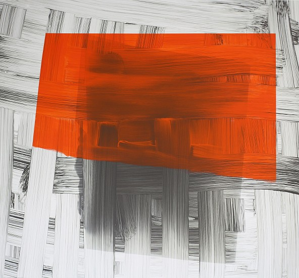 KATE PETLEY, SWEPT OVER acrylic and archival ink on canvas