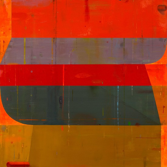 DEBORAH ZLOTSKY, The jig is almost up oil on canvas