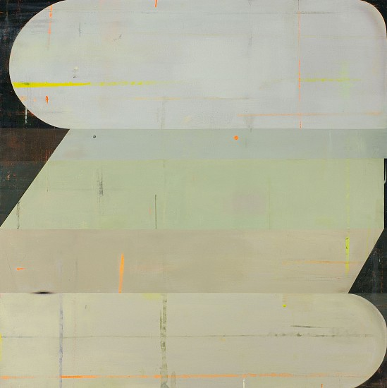 DEBORAH ZLOTSKY, Wallflower oil on canvas