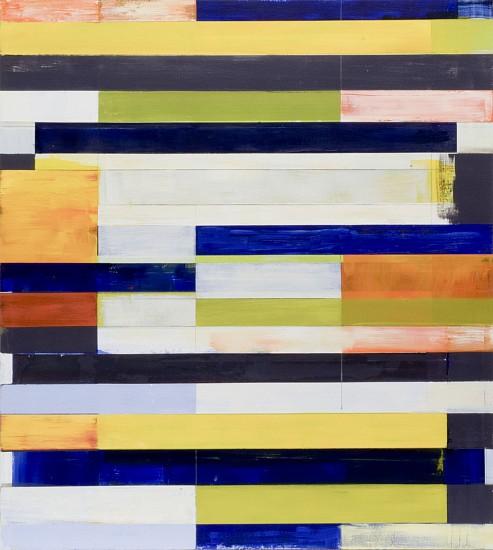 LLOYD MARTIN, UNTITLED oil on canvas