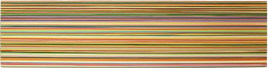 WENDI HARFORD, TIMBRE TIMBERS latex acrylic on canvas