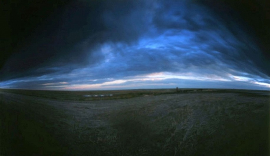 DAVID SHARPE, EASTERN PHENOMENA 1 pinhole photograph pigment print
