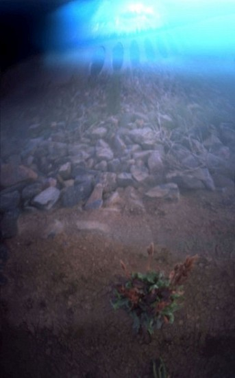 DAVID SHARPE, EASTERN PHENOMENA 4 pinhole photograph