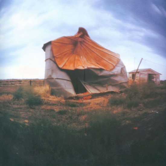 DAVID SHARPE, EASTERN PHENOMENA 6 pinhole silver print