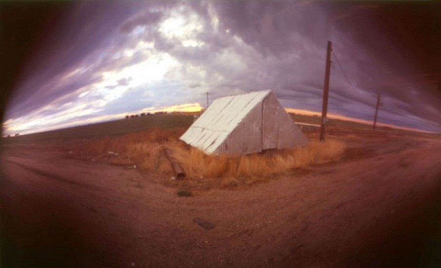DAVID SHARPE, EASTERN PHENOMENA 7 pinhole photograph