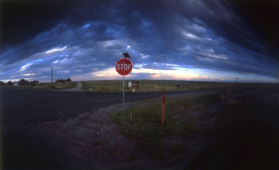 DAVID SHARPE, EASTERN PHENOMENA 12 pinhole photograph
