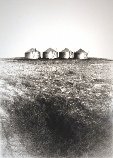 DAVID SHARPE, EASTERN PLAINS SUITE 2.1 pinhole silver print
