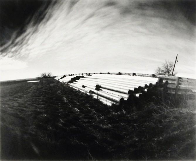 DAVID SHARPE, LOST ALTAR 5 pinhole silver print