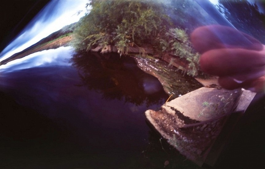 DAVID SHARPE, WATERTHREAD 23 color pinhole photograph