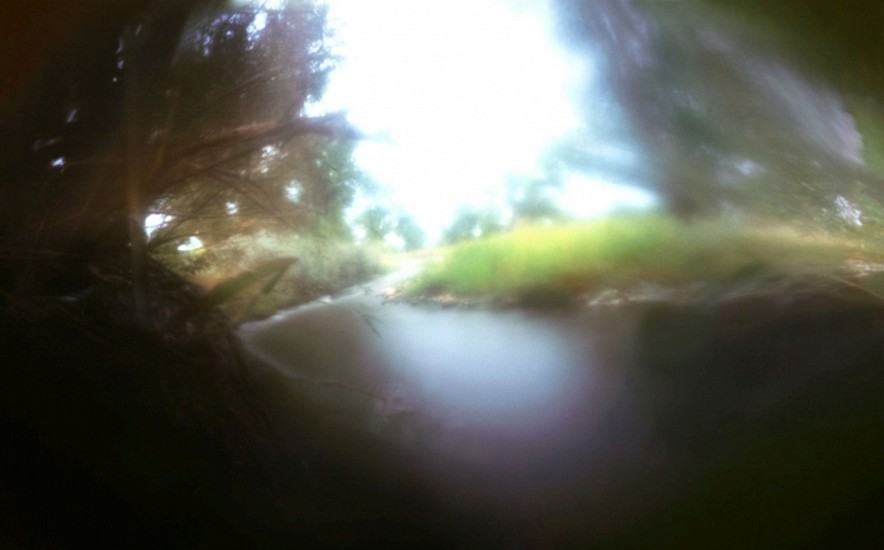DAVID SHARPE, WATERTHREAD 25 color pinhole photograph