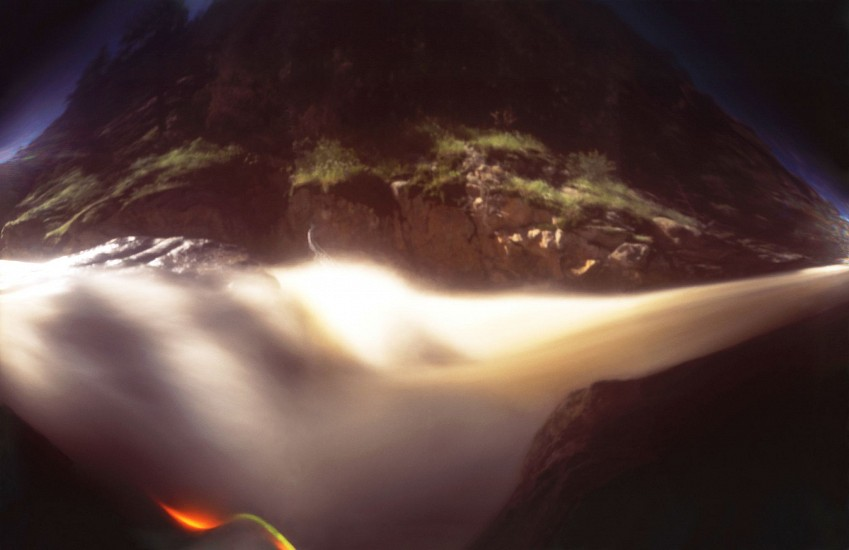 DAVID SHARPE, WATERTHREAD 76 color pinhole photograph