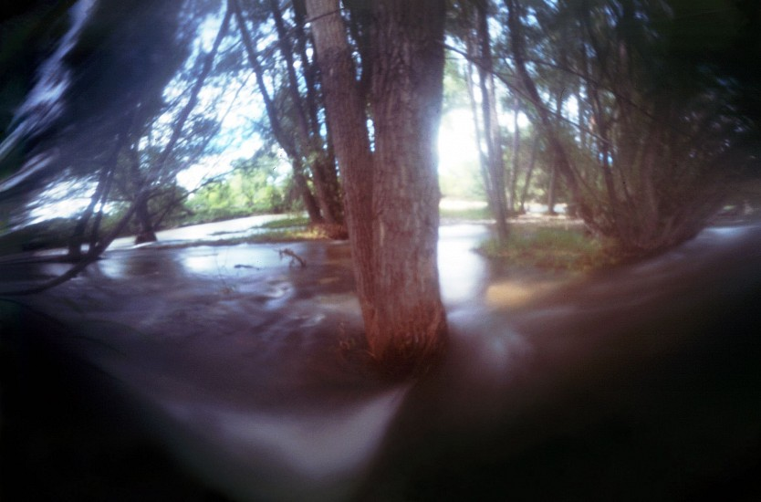 DAVID SHARPE, WATERTHREAD 85 color pinhole photograph