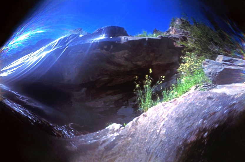 DAVID SHARPE, WATERTHREAD 79 color pinhole photograph